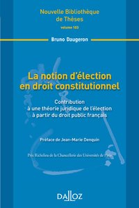 La notion d'élection en droit constitutionnel