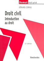 Droit civil - Introduction au droit