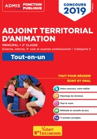 Concours adjoint territorial d'animation