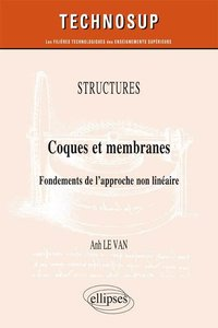 Stuctures - Coques et membranes