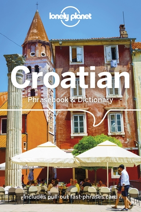 Croatian phrasebook & dictionary 4ed -anglais-