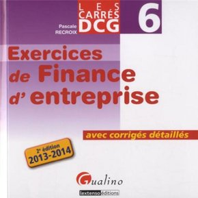 Exercices de finance d'entreprise - DCG6