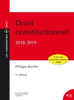 Droit constitutionnel - 2018/2019