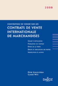 Convention de Vienne sur les contrats de vente internationale de marchandises