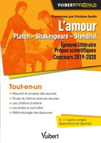 L'amour - Platon, Shakespeare, Stendhal