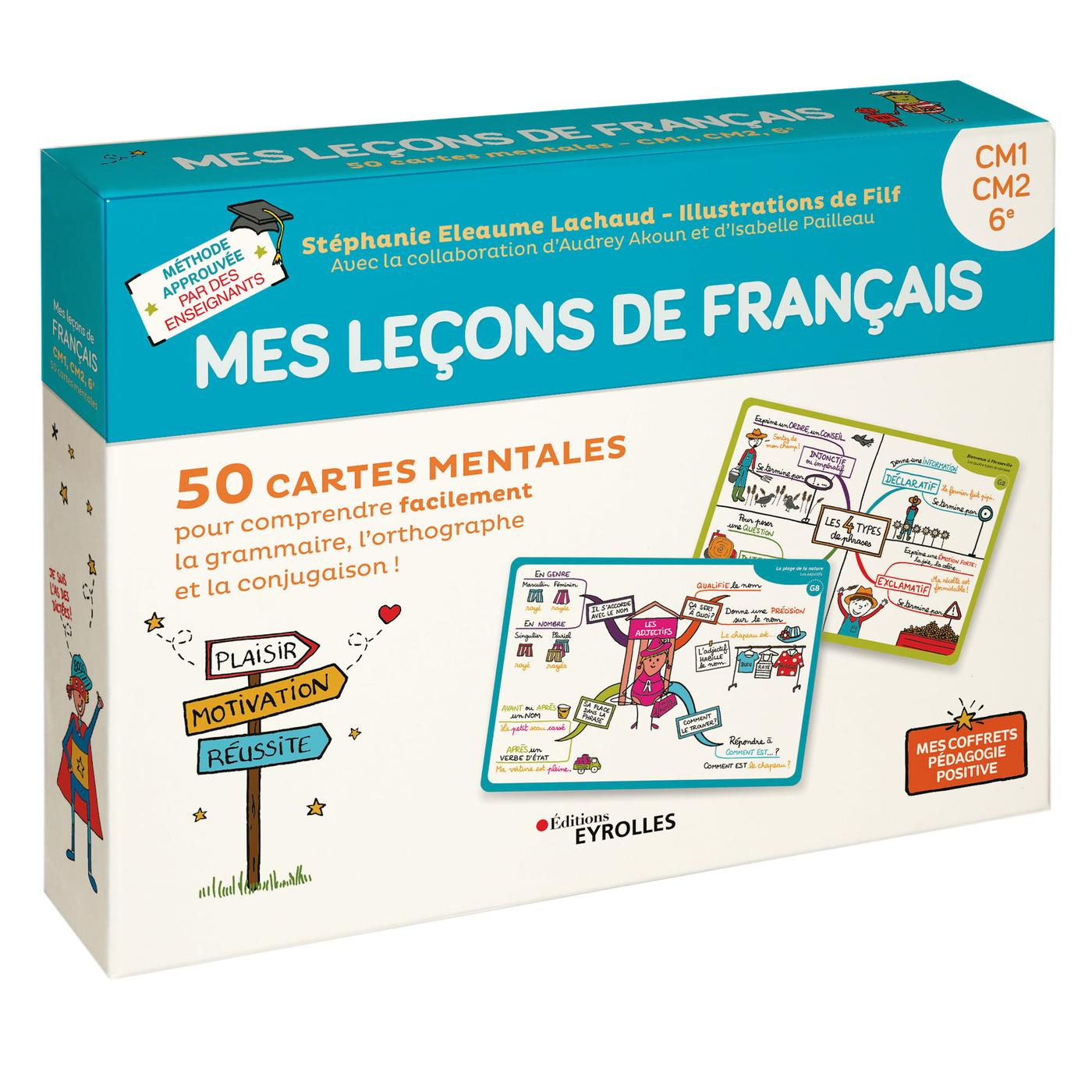 Mes Lecons De Francais Cm1 Cm2 6e S Eleaume Lachaud Filf Librairie Eyrolles