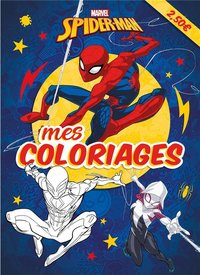 Mes coloriages ; spider-man ; mes coloriages