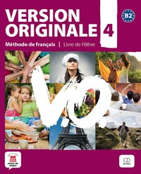 Version originale 4 livre de l'eleve + cd