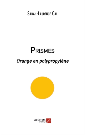 Prismes - orange en polypropylène