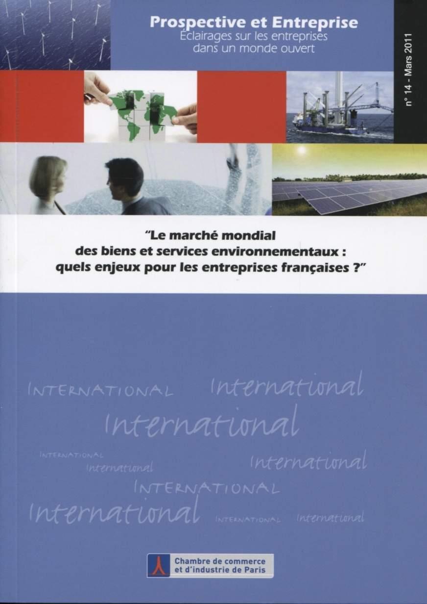 Marche Mondial Des Biens Et Services Environnementaux Chambre De Librairie Eyrolles