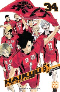 Haikyu !! - Les as du volley - Tome 34
