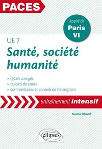 Sante societe humanite ue7 paces entrainement intensif