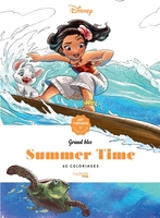 Grands blocs coloriages disney summer time