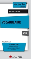 Vocabulaire - 2017