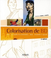 Colorisation de bd