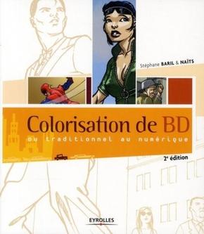 Naïts- Colorisation de bd