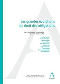 Les grandes evolutions du droit des obligations