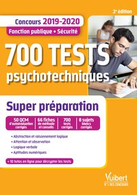 700 tests psychotechniques