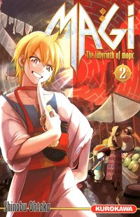 Magi Tome 2 : The labyrinth of magic
