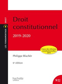 Droit constitutionnel - 2019/2020