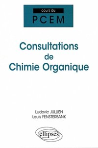 Consultations de chimie organique