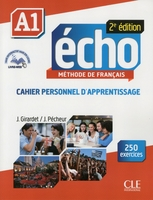 Echo a1 cahier d'apprentissage + cd audio 2ed