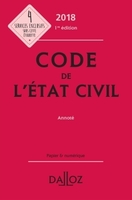 Code de l'état civil 2018