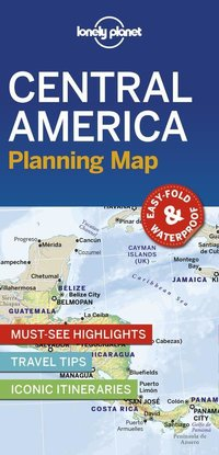 Central america planning map 1ed -anglais-