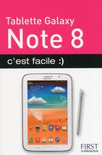 Tablette Galaxy Note 8, c'est facile :)