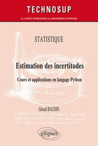 Statistique - Estimation des incertitudes