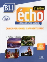 Echo b1.1 cahier d'apprentissage +cd audio 2ed