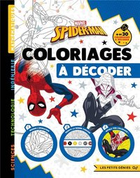 Spider-Man - Coloriages à décoder