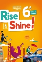 Rise and shine 6e - livre