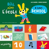 Bill aime l'ecole / i love school