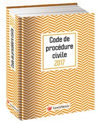 Code de procédure civil 2017 jaquette