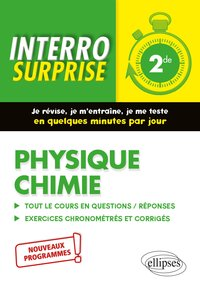 Interro surprise - Physique chimie 2de