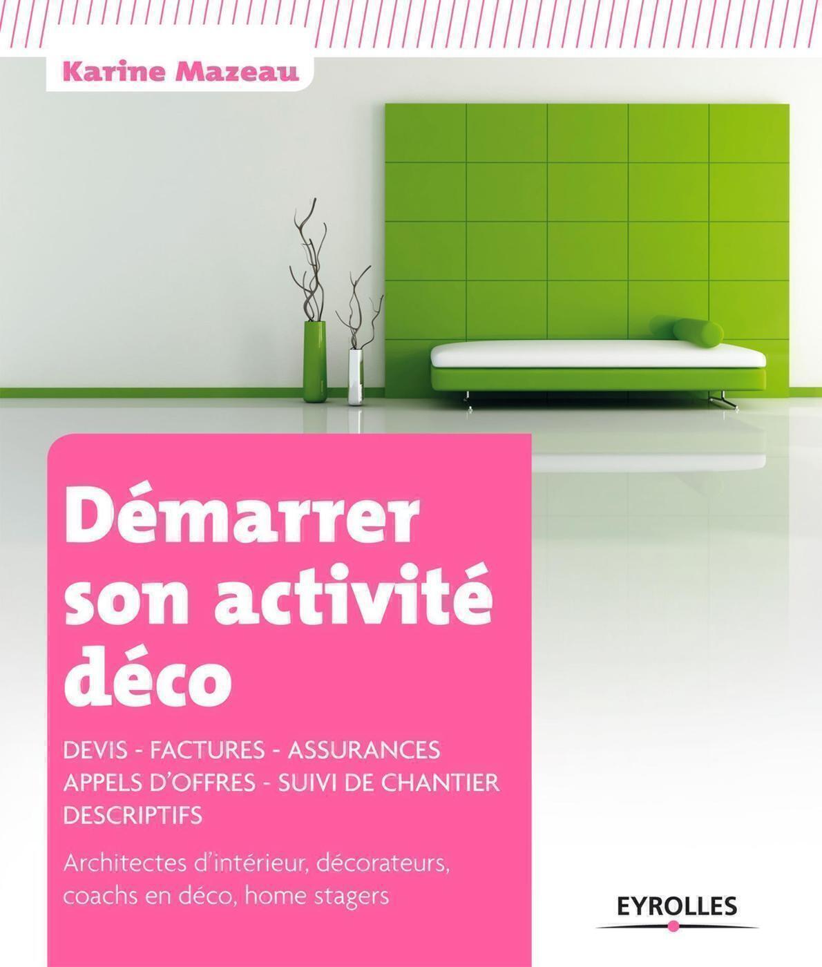 Exemple Devis Home Staging démarrer son activité déco - k.mazeau - librairie eyrolles