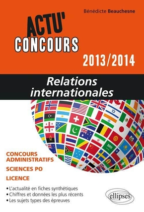 Relations internationales - 2013-2014
