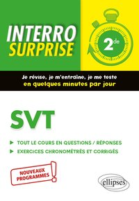 Interro surprise - SVT 2de