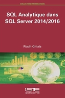 SQL Analytique dans SQL Server 2014/2016