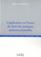L'application en France du droit des pratiques anticoncurrentielles
