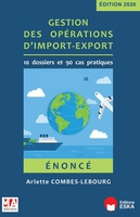 Gestion des operations import-export - e
