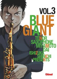 Blue Giant - Volume 3 - Tenor saxophone, Miyamoto Dai