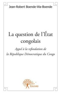 La question de l'etat congolais
