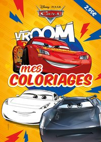 Mes coloriages - Cars