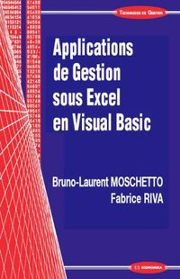 Applications de gestion sous Excel en Visual Basic