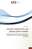 Jet plan impactant une plaque plane mobile
