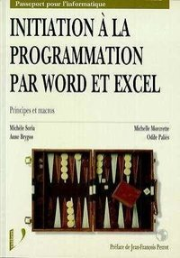 Initiation à la programmation par Word et Excel