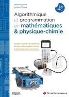 J.Lenoir, L.Diana - Algorithmique et programmation en mathématiques et physique-chimie