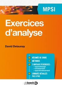 Exercices d'analyse - MPSI